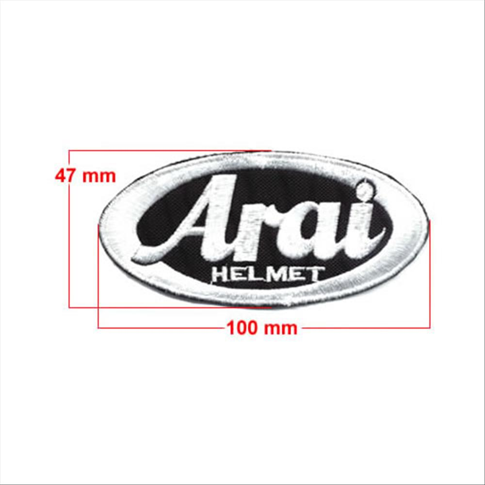 Cucisivo Arai Helmet 100x45mm