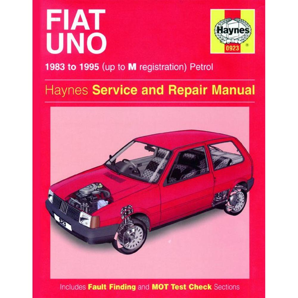 Manuale Auto, Fiat Uno Petrol (83-95) up to M