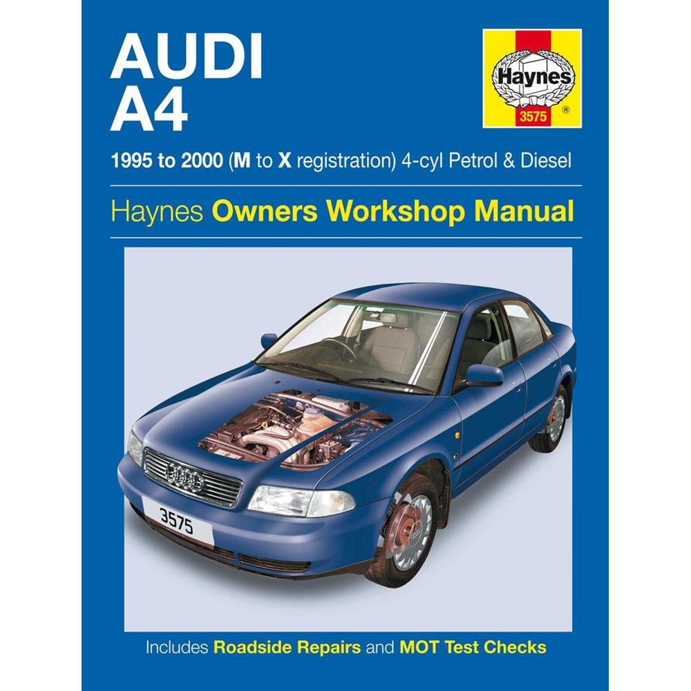 pretty nice 6017c 9c5d7 Manuale Auto, Audi A4 Petrol and Diesel (95-Feb00) M to V