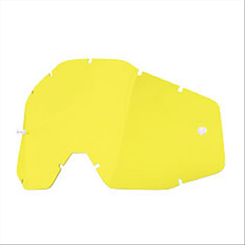 Lente 100% Accuri, Strata, Racecraft - Yellow lens