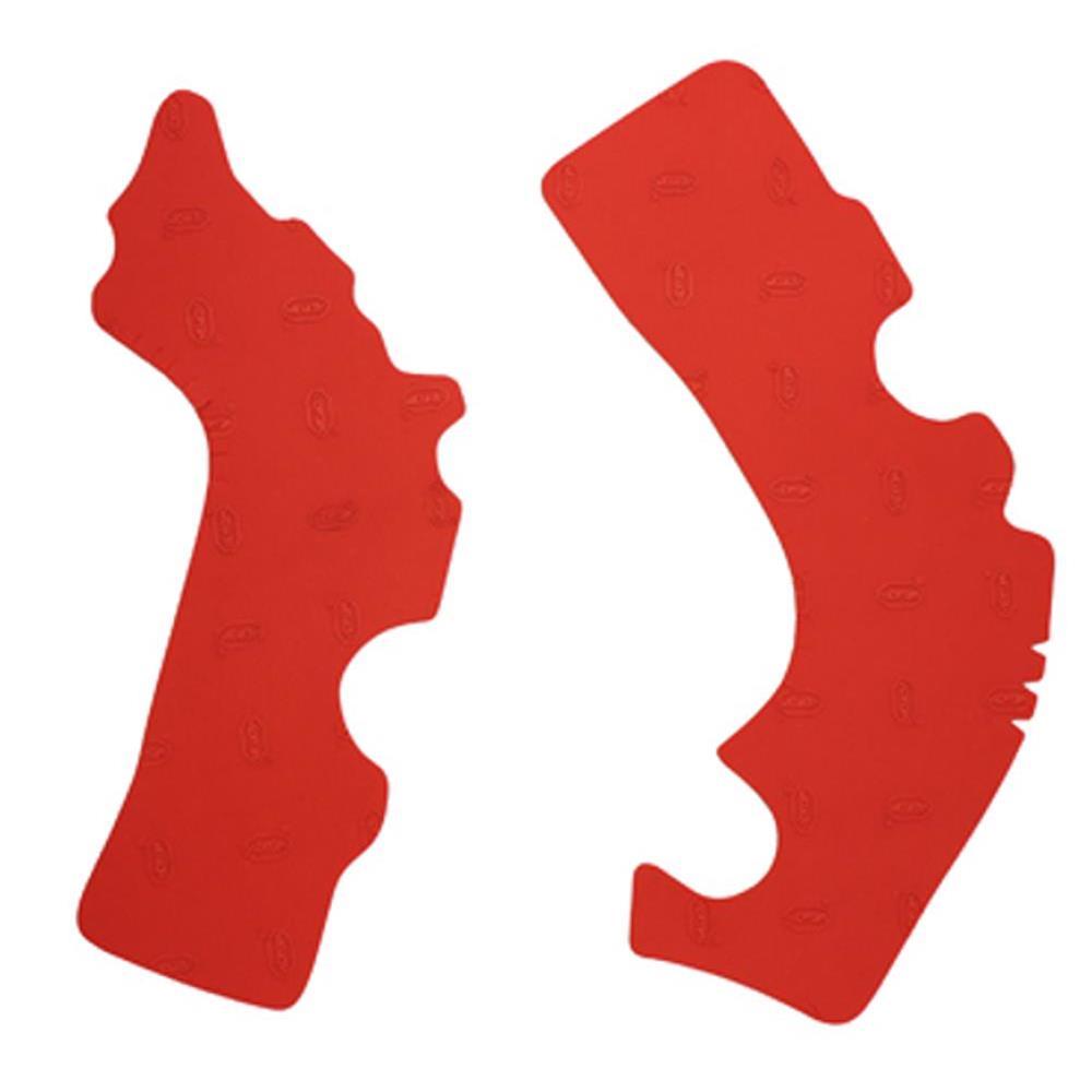 coppia adesivi sticker PRO-LINK prespaziato honda forcellone decal