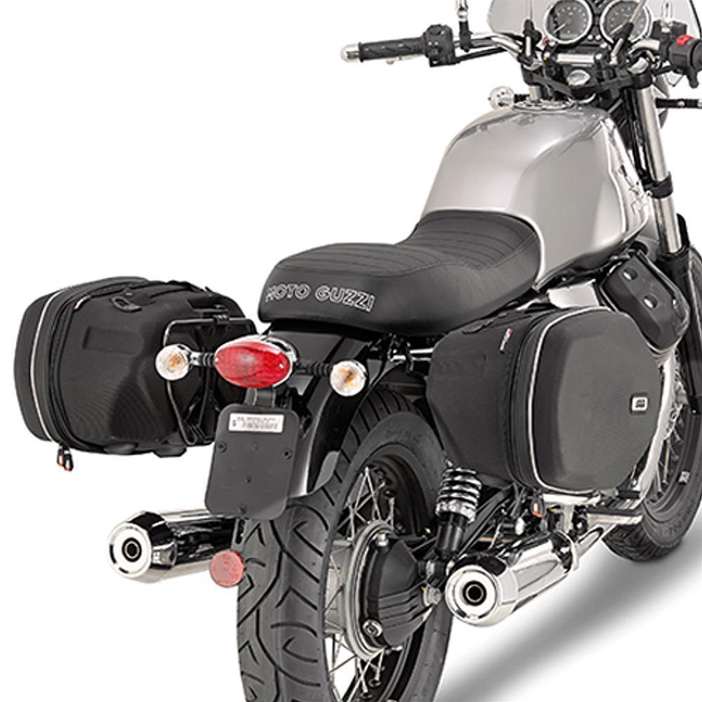 ultima collezione vendita online a piedi scatti di Telaietti specifici per borse laterali Easylock, o borse soffici laterali  Moto Guzzi