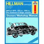 Manuale Auto, Hillman/Chrysler IMP (63-76) up to R
