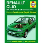 Manuale Auto, Renault Clio Petrol (91-May98) H to R
