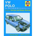 Manuale Auto, Volkswagen Polo Petrol (Nov90-Aug 94) H to L