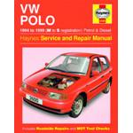 Manuale Auto, Volkswagen Polo Hatchback Petrol & Diesel (94-99) M to S