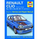 Manuale Auto, Renault Clio Petrol & Diesel (May98-May01) R to Y