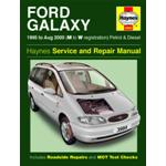 Manuale Auto, Ford Galaxy Petrol & Diesel (95-Aug 00) M to W