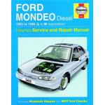 Manuale Auto, Ford Mondeo Diesel (93-96) L to N