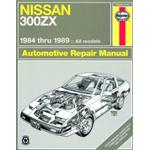 Manuale Auto, Nissan 300ZX Turbo and non-Turbo models (84-89) (USA)