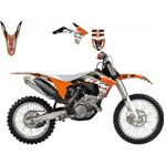 Kit Adesivi KTM Dream 3 SX/SXF (11-12) ECX (12-13)