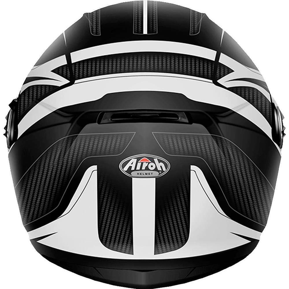 Casco Airoh Storm Sharpen White Matt - taglia XL