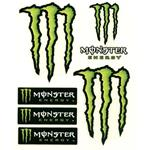 Adesivo 100x120mm, Monster Energy