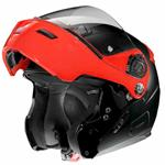 Casco Grex G9.1 Evolve Couplè N-Com, Flat Black Red