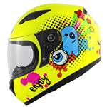 Casco Junior Kappa KJ04 Boom Giallo Fluo