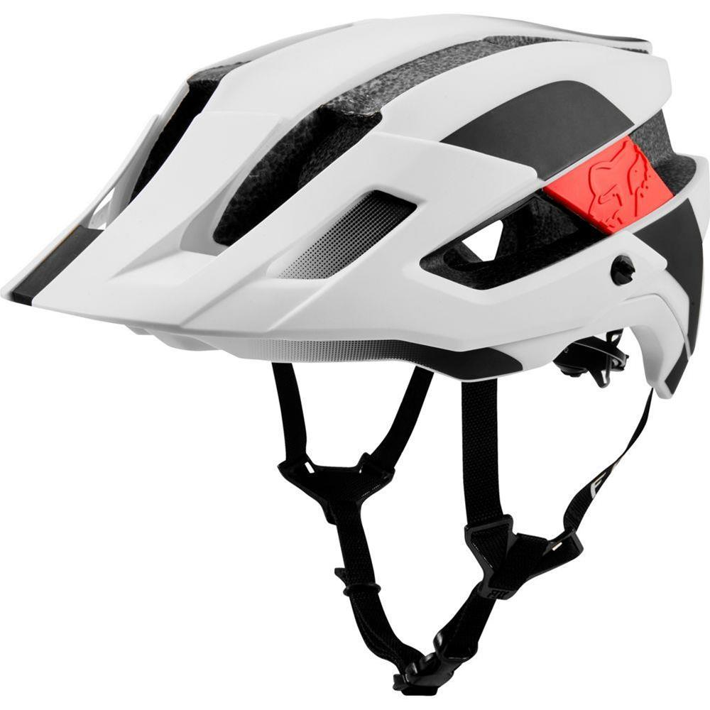 Casco Bici Fox Flux Mips Conduit White Black - taglia XS/S (50/55cm)