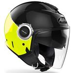 Casco Airoh Helios Fluo Yellow Gloss