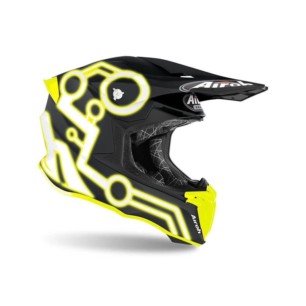 Casco Airoh Twist 2.0 Neon Yellow Matt