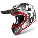 Casco Airoh Aviator Ace Kybon Red Gloss