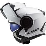 Casco LS2 FF902 Scope Solid Bianco Lucido