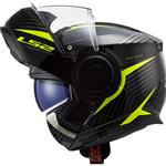 Casco LS2 FF902 Scope Skid Black H-V Yellow