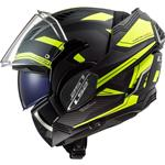 Casco LS2 FF900 Valiant 2 Revo Black H-V Yellow