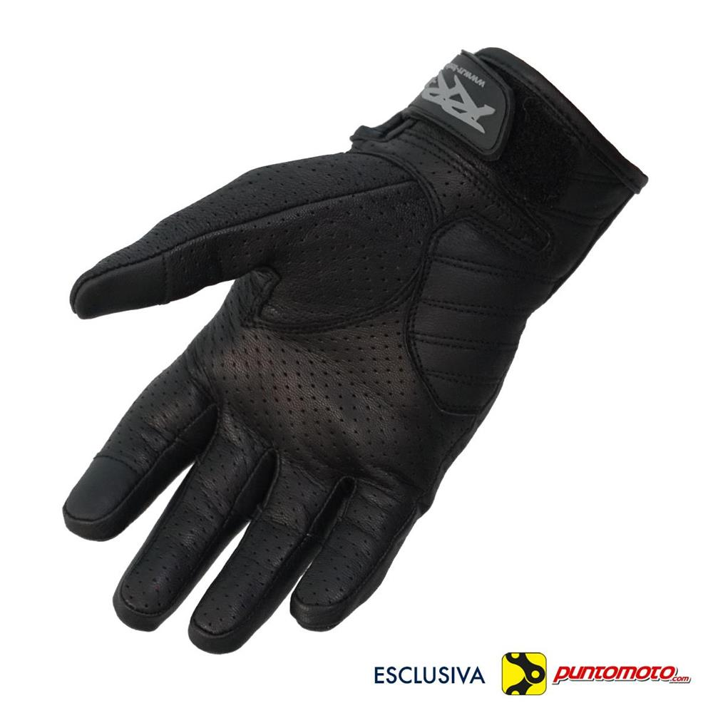 Guanti RR-Tech Leather Hole Protection Nero