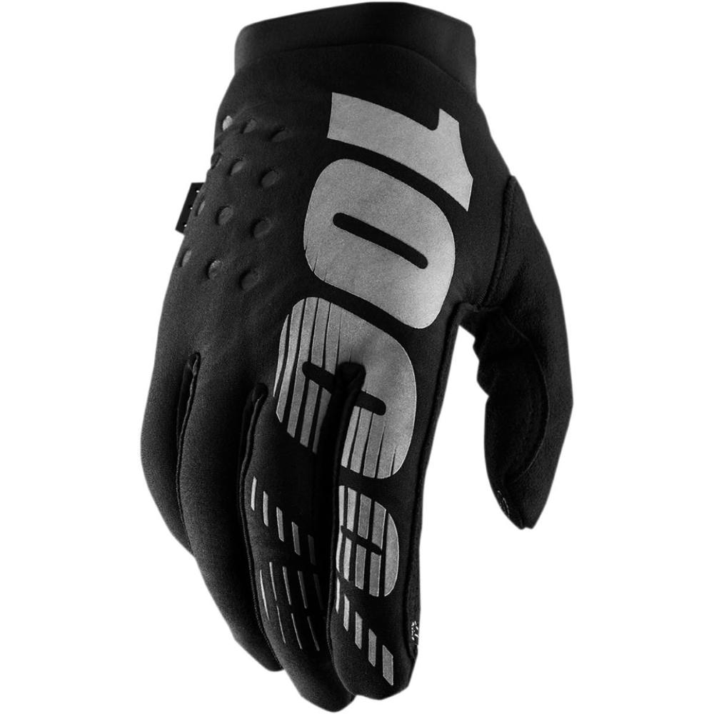 Guanti Donna MX/MTB 100% Brisker Black Grey
