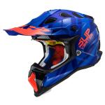 Casco LS2 MX470 Subverter Troop Matt Blue