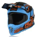 Casco Junior Acerbis Impact Junior Blu Rosso