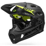 Casco Bici Bell Super DH MIPS Spherical Matte Gloss Black Hi-Vis